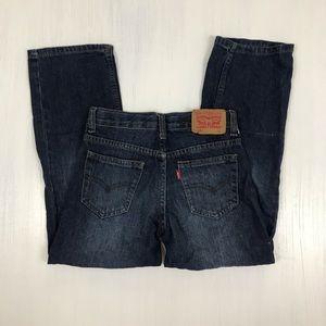❤️ Boy's Levi's 505 Regular Denim Jeans   Size 7R